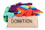 Donation Cardboard Box